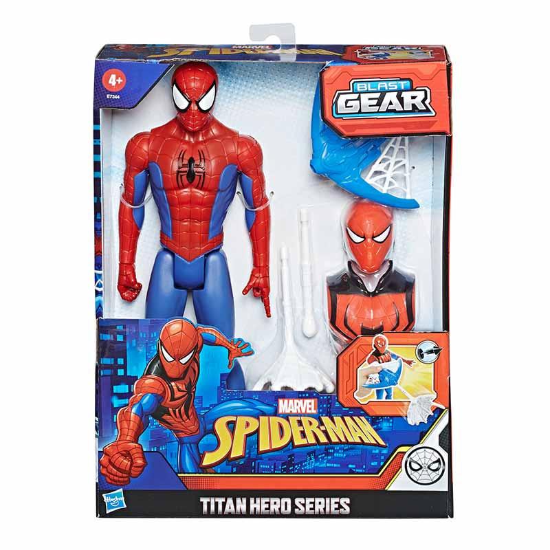 Spiderman figura titán y accesorios