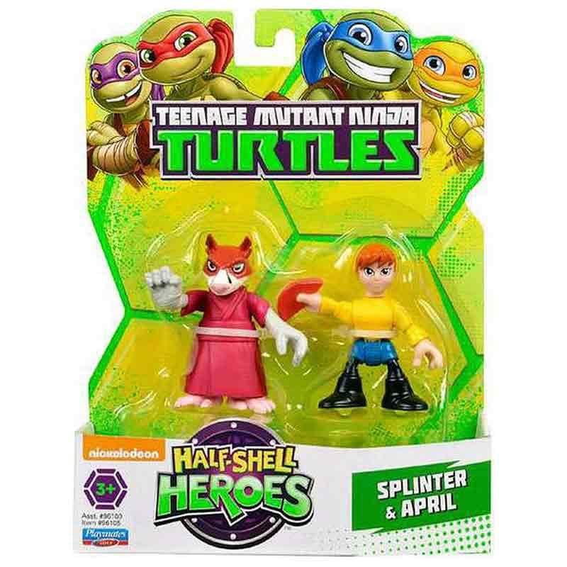 Tortugas ninja hsh blister 2 personajes