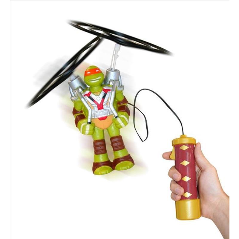 Tortugas Ninja figura Voladora Mike