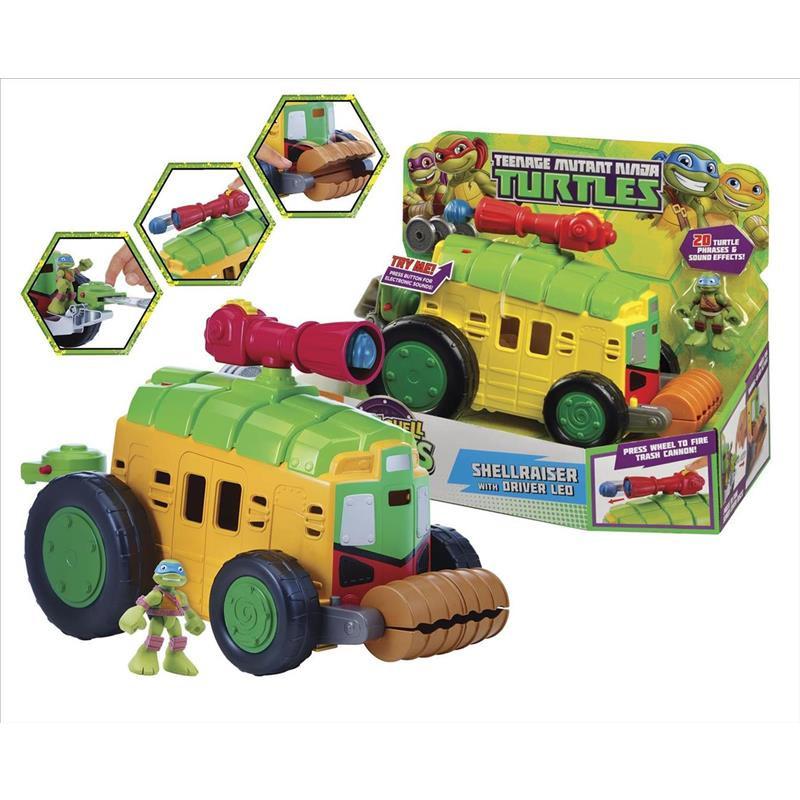 Tortugas Ninja Hsh Shell Raiser Van