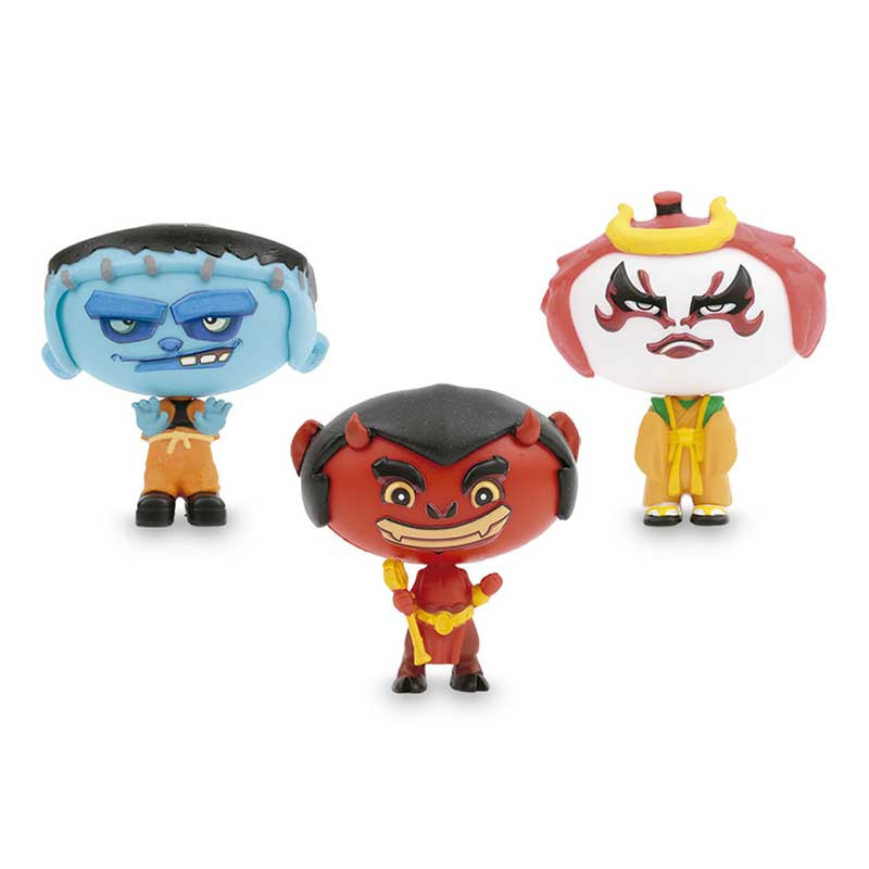 Hero Eggs Monsters 3 figuras