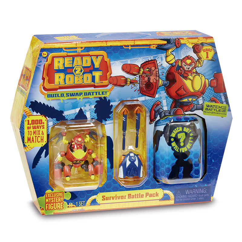 Ready 2 Robot Battle Pack Survivor