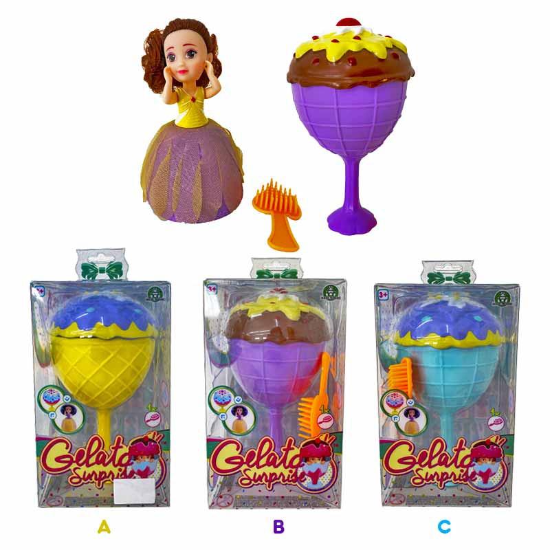 muñecas Princesas helato sorpresa