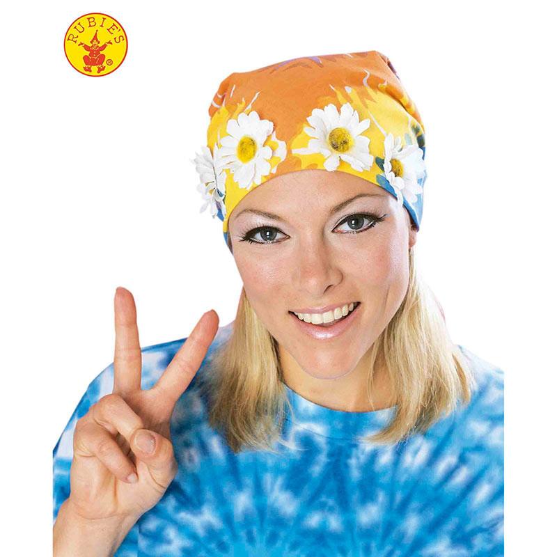 Bandana hippie con flores