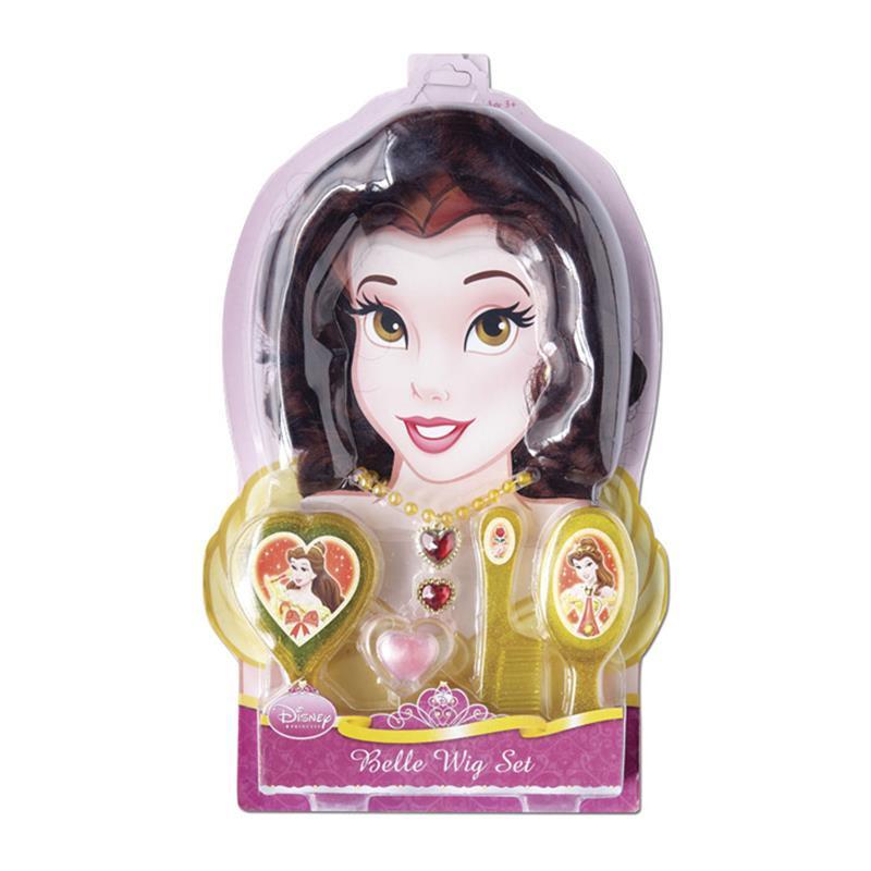 Accesorios disfraz infantil de princesa Bella