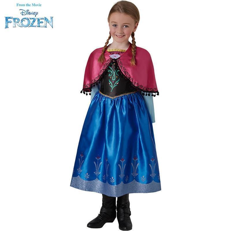 Disfraz Anna Frozen deluxe infantil