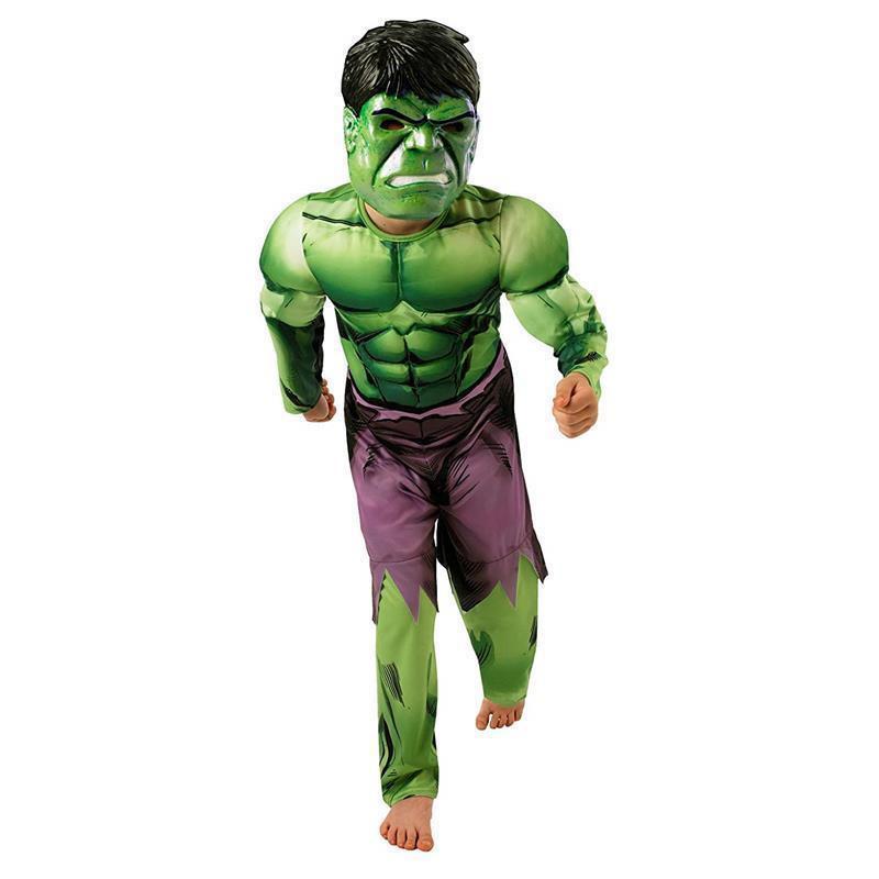 Disfraz Hulk Avengers deluxe infantil