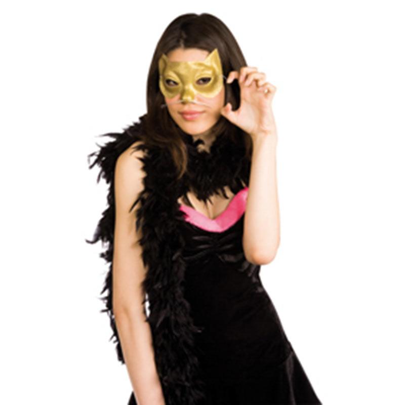 Mascara Glitter Gatita Dorada Rubies