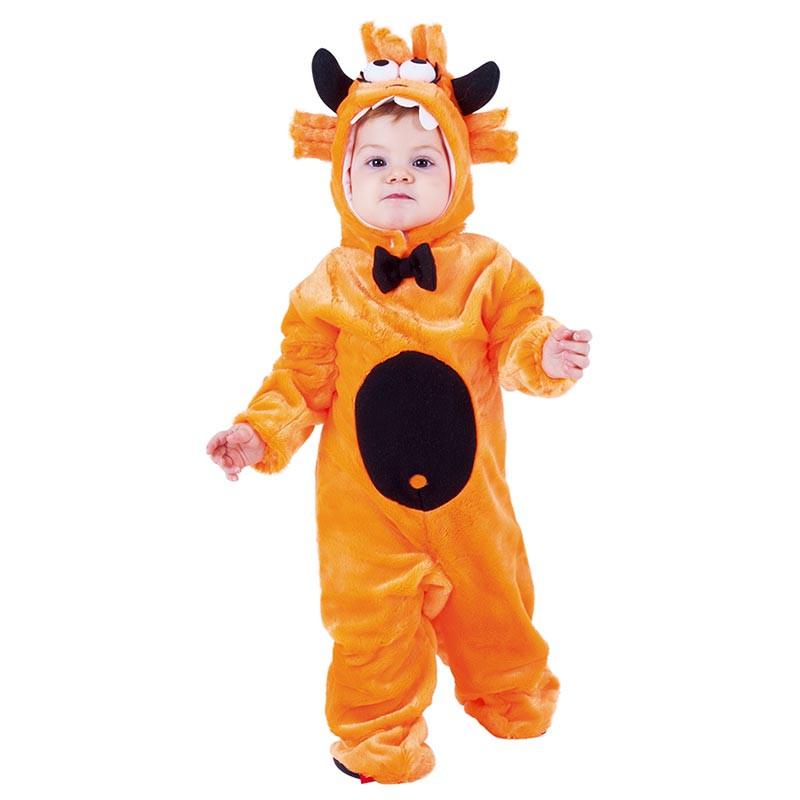 Disfraz Mon-tuo naranja bebé Halloween
