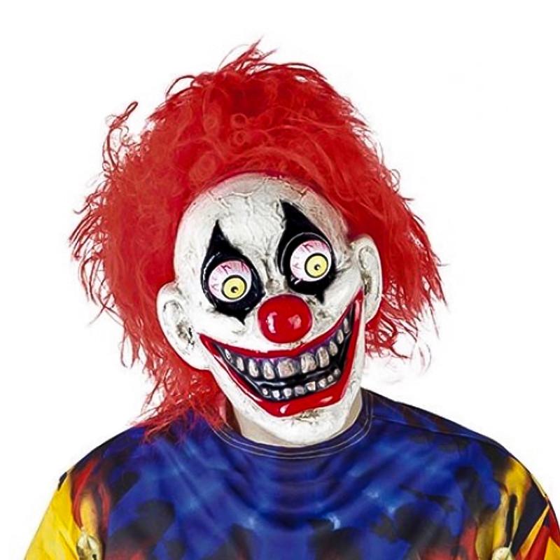 Máscara The Clown con ojos móviles