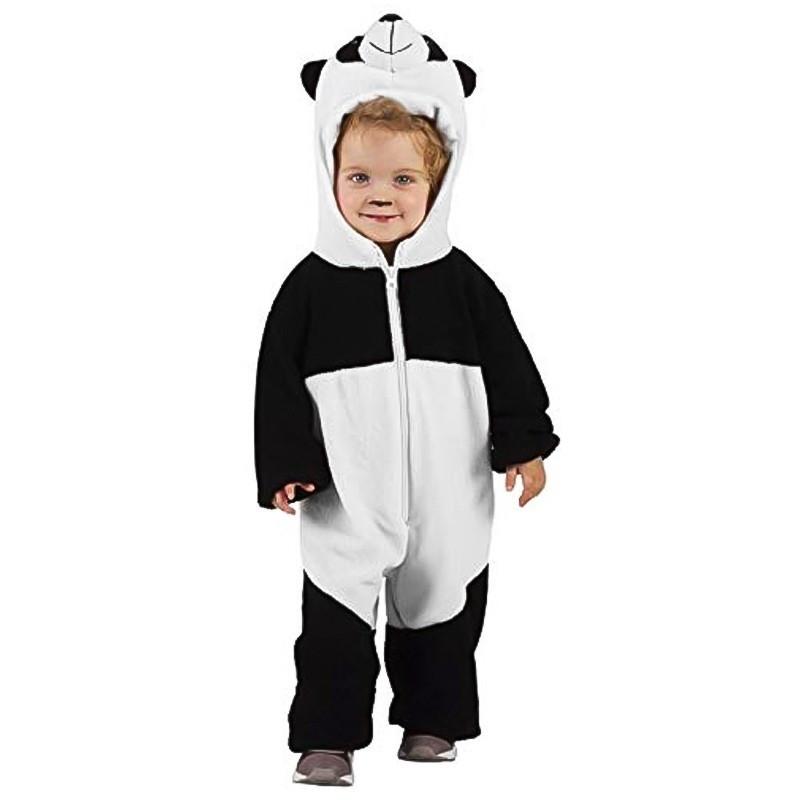 Disfraz osito panda bebé