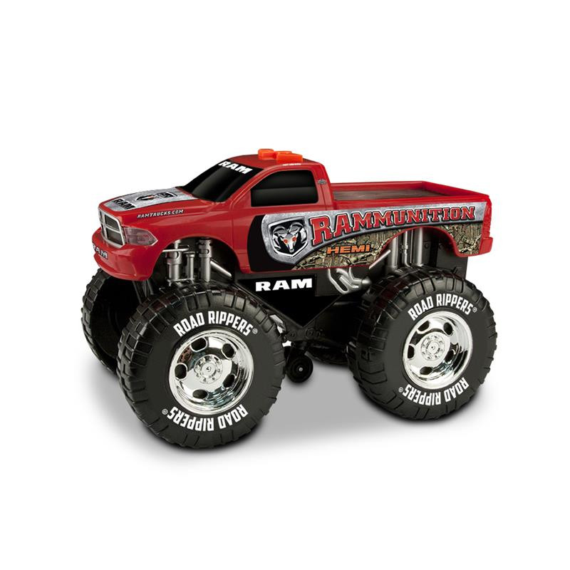 Wheelie Monster Truck Rammunition