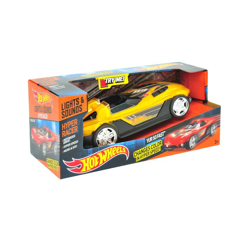 Hot Wheels vehiculo Hyper racer so fast