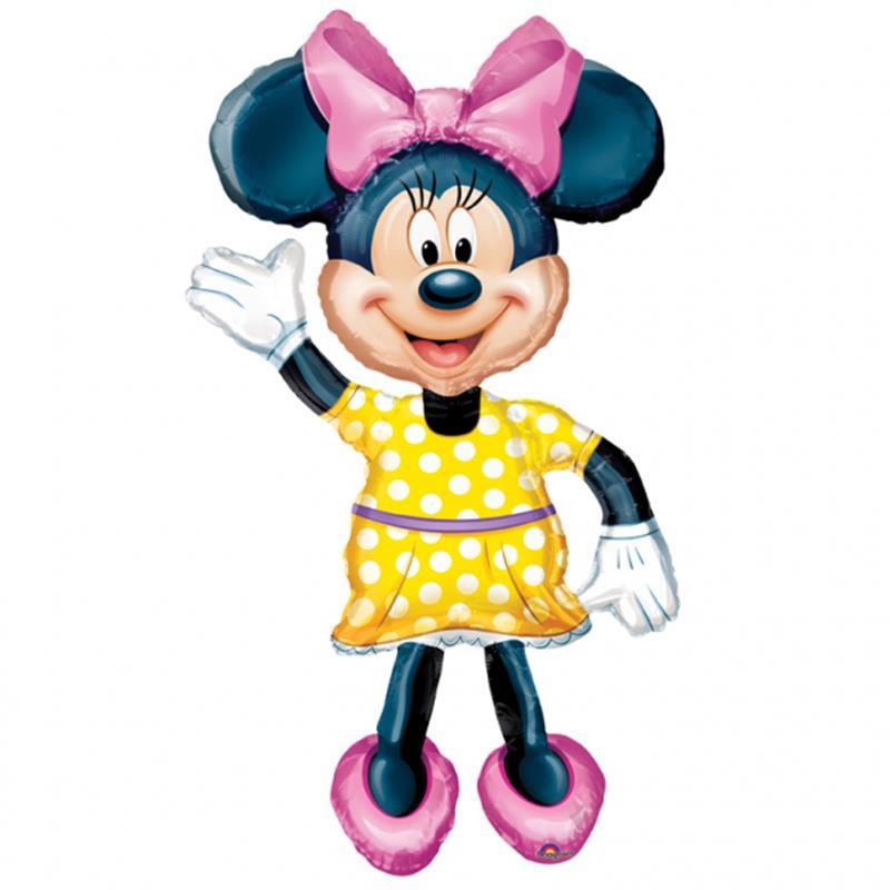 Globo figura Minnie