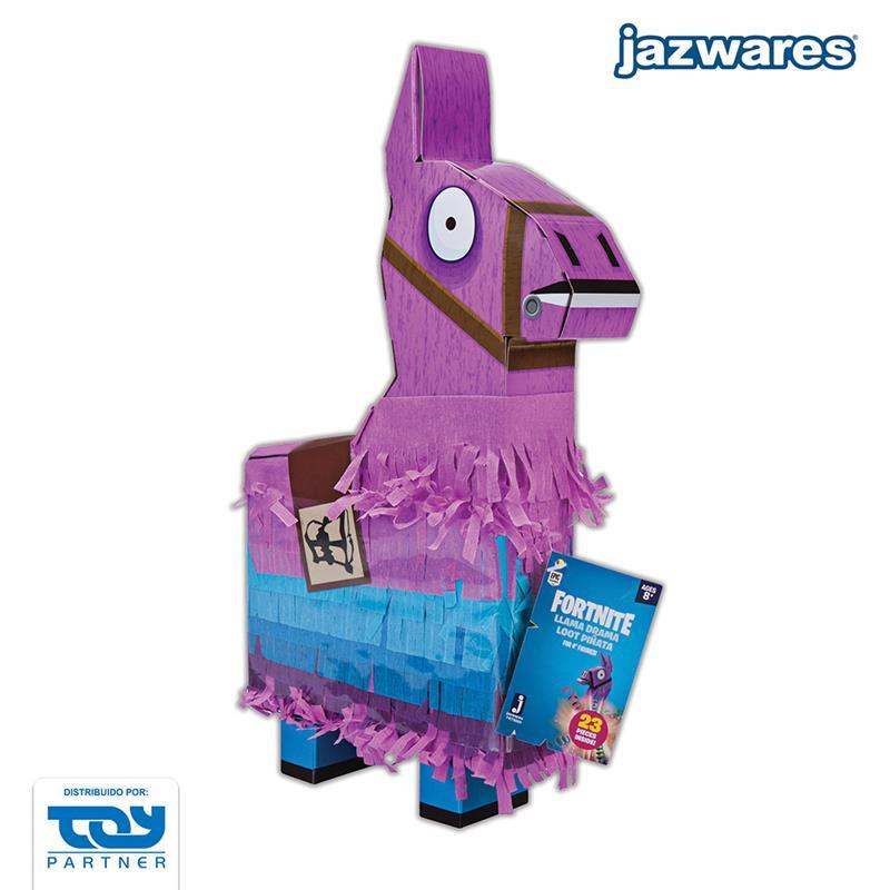 Piñata -Fortnite Llama Drama - figura y accesorios