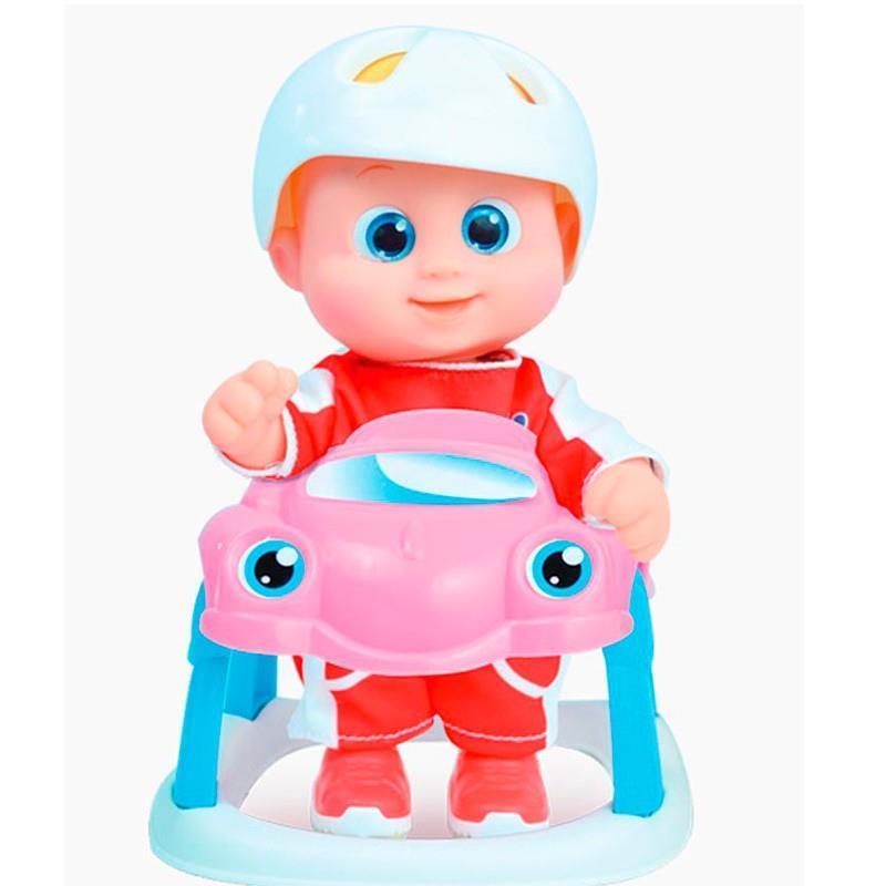 Bouncin Babies little Baniel y su coche