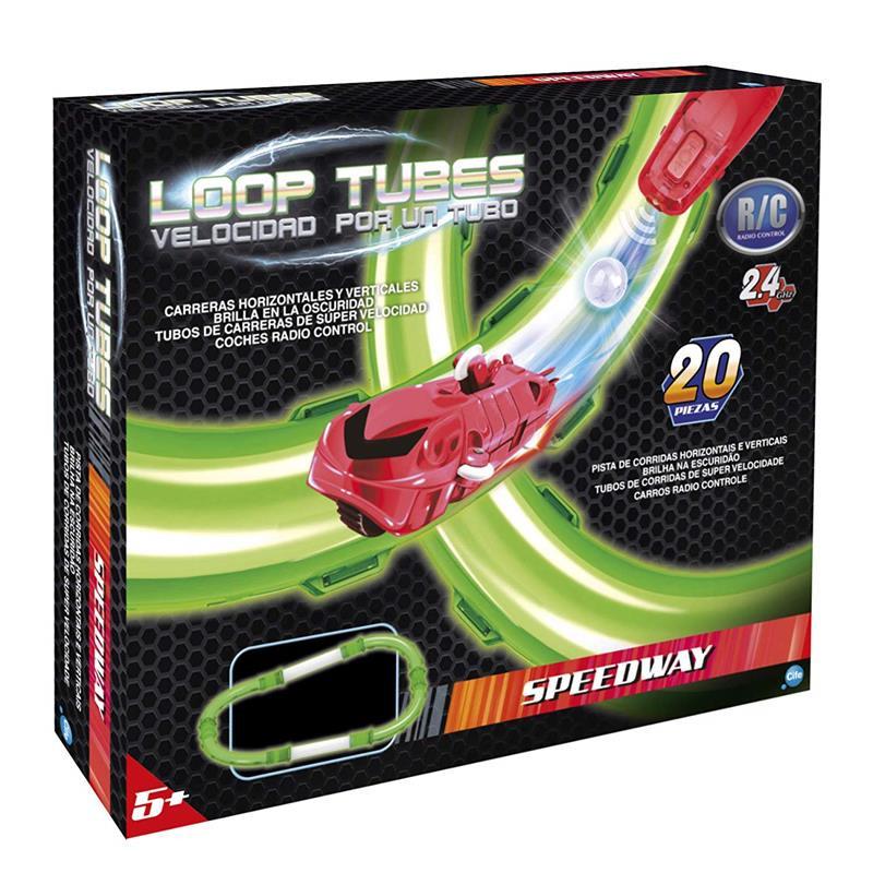 Loop Tubes Car velocidad por un tubo