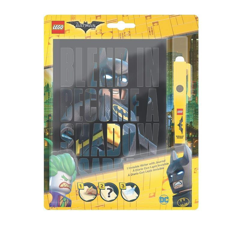 LEGO Batman Movie agenda con bolígrafo