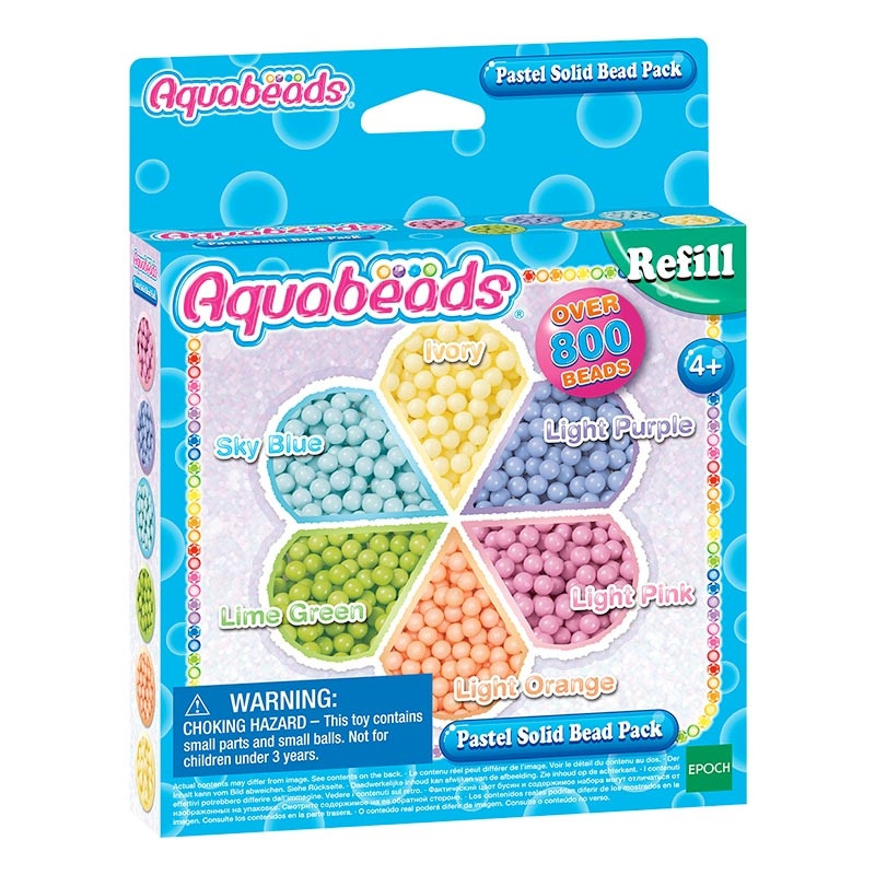 Aquabeads pack abalorios pastel