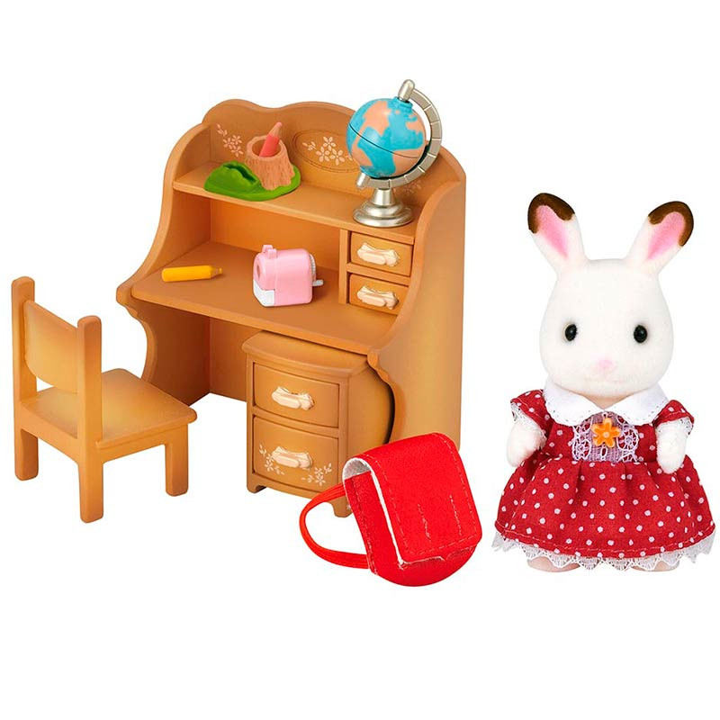 Sylvanian Families conejo chocolate set hermana