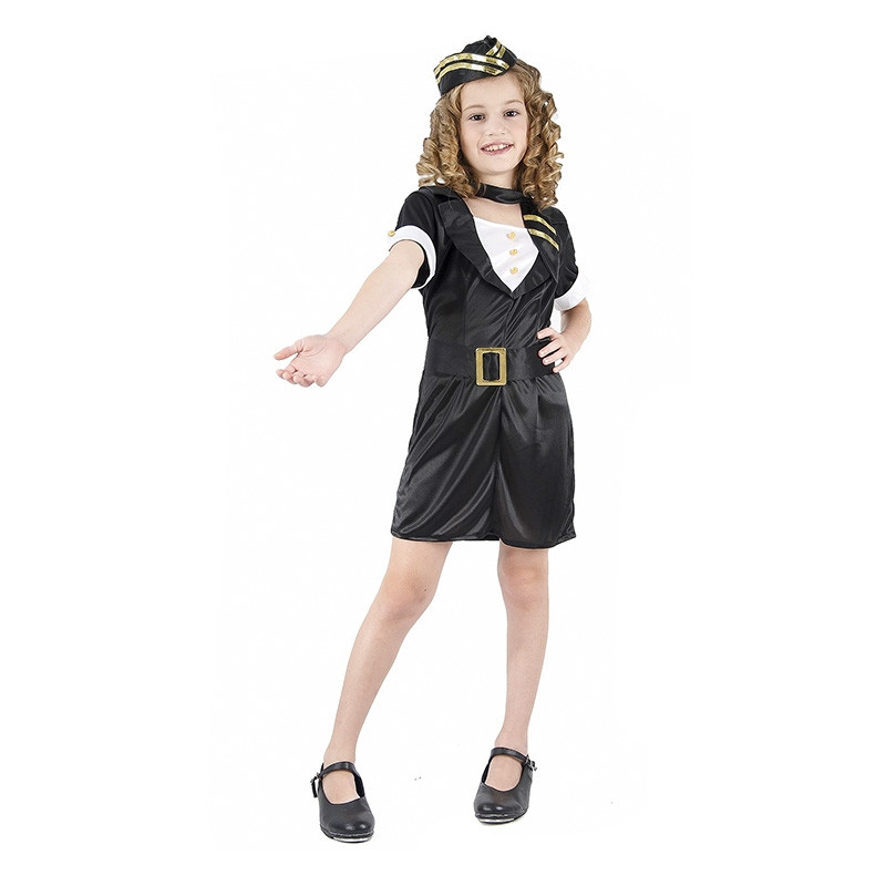 Disfraz Azafata de vuelo Infantil