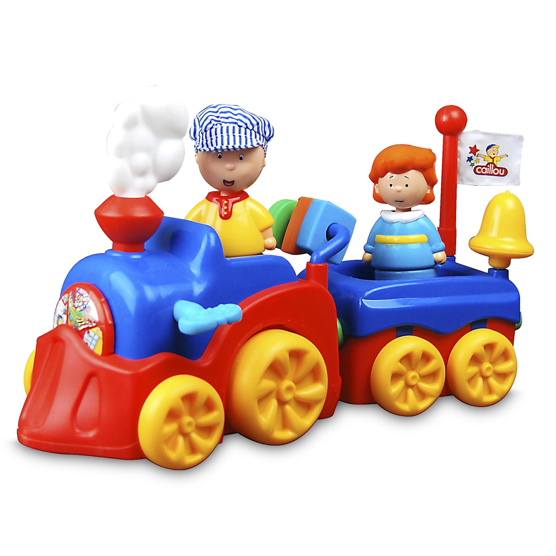 Caillou tren con funciones