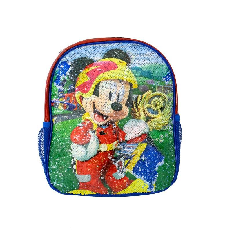 Mochila Mickey con lentejuelas reversibles 30cm