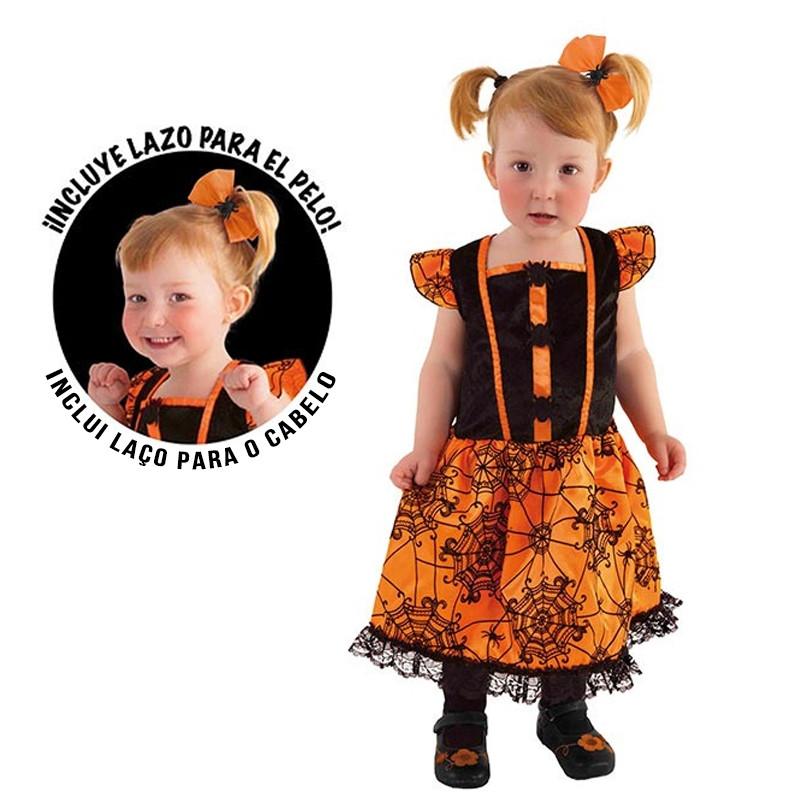 Disfraz Miss arañita bebé Halloween