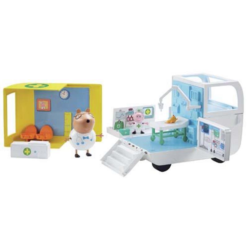 Ambulancia y centro médico Peppa Pig