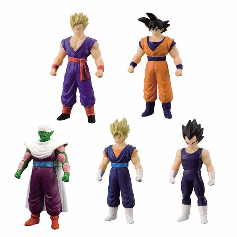 Set de 5 Héroes de Dragon Ball Versión 2
