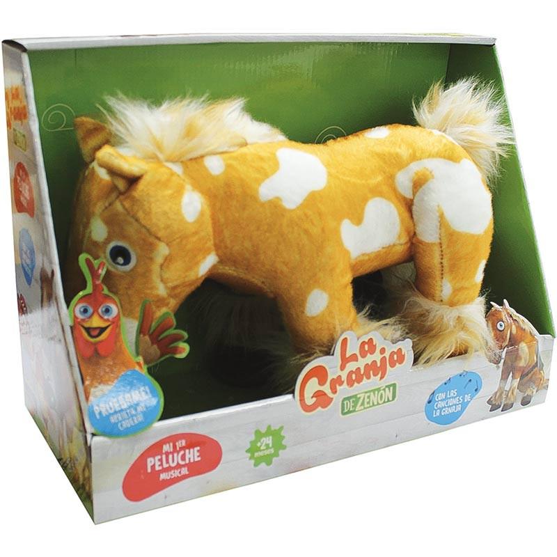 La granja de Zenón caballo percherón musical