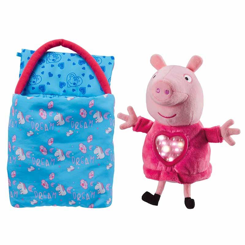 Peluches Peppa Pig fiesta de pijamas