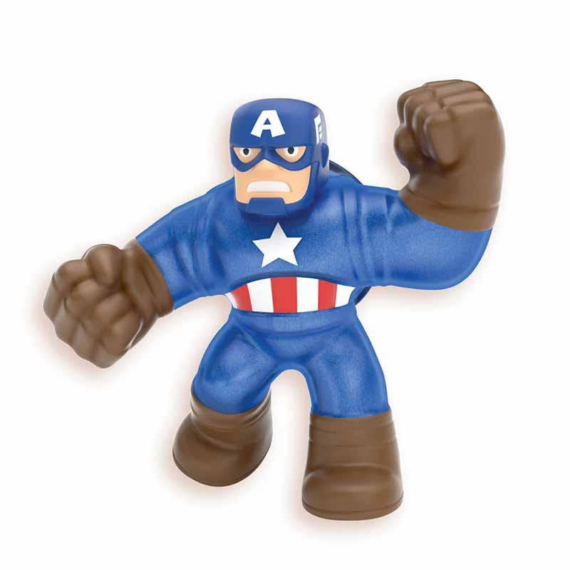 Figura Marvel Heroes Goo Jit Zu Capitán Ameríca