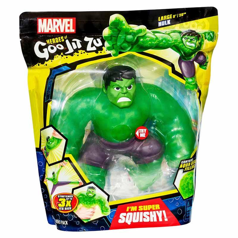 Goo Jit Zu súper figura Hulk