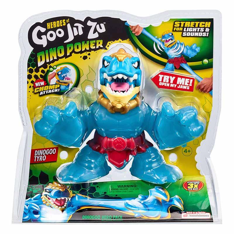 Goo Jit Zu súper figura Dino Power