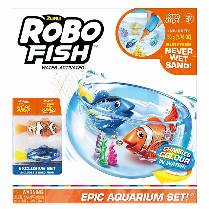 Súper acuario Robofish