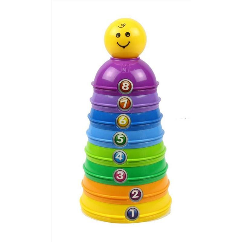 Juguete apilable de colores