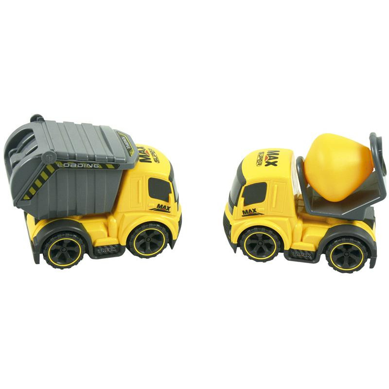 Camión de obra de juguete set de 2
