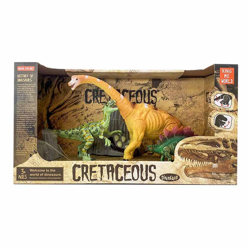 Set de 3 Dinosaurios