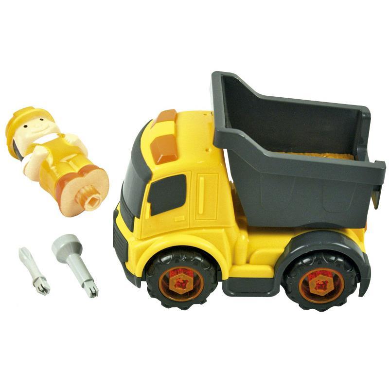 Camión construcción infantil para montar/desmontar