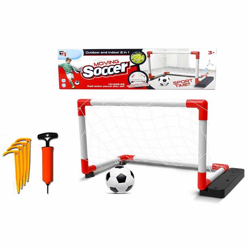 Portería Moving Soccer 67x30x41 balón e hinchador