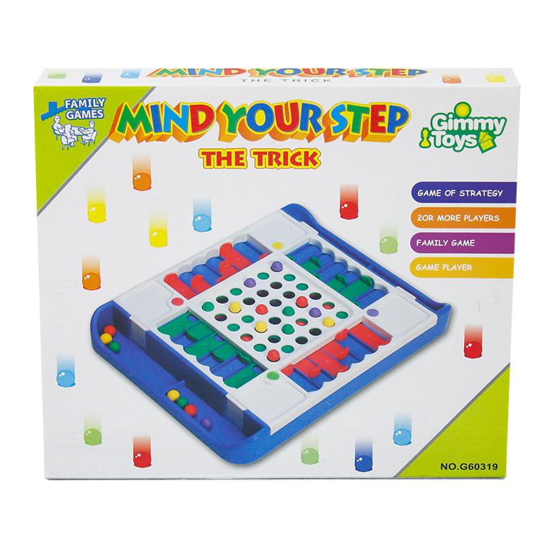 Juego de mesa mind your step