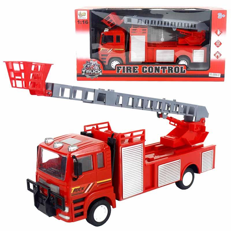 Camión Bomberos 31x11x15cm