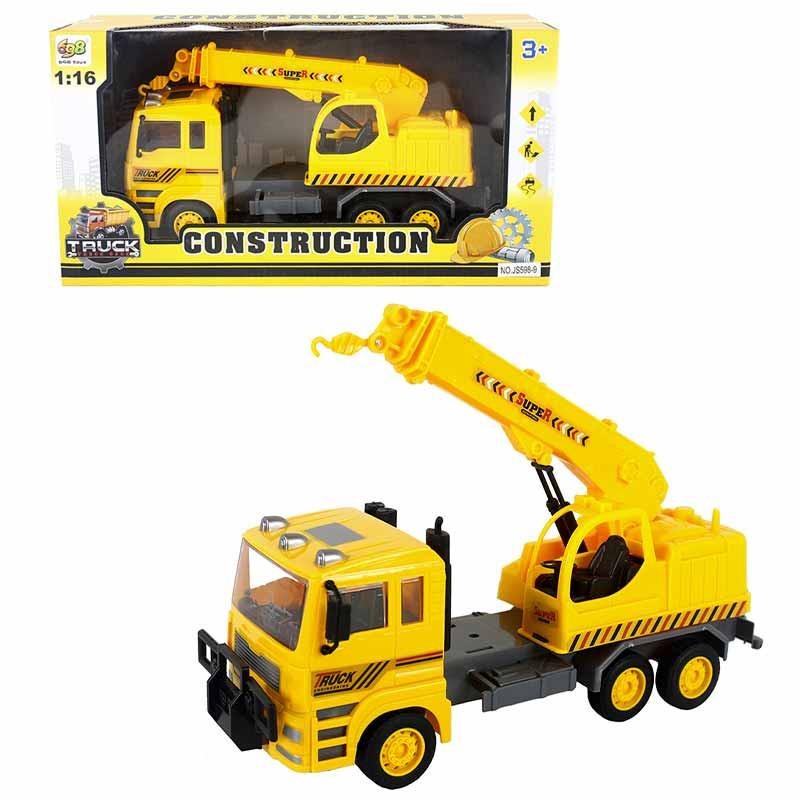Camión construcción 31x9x14cm
