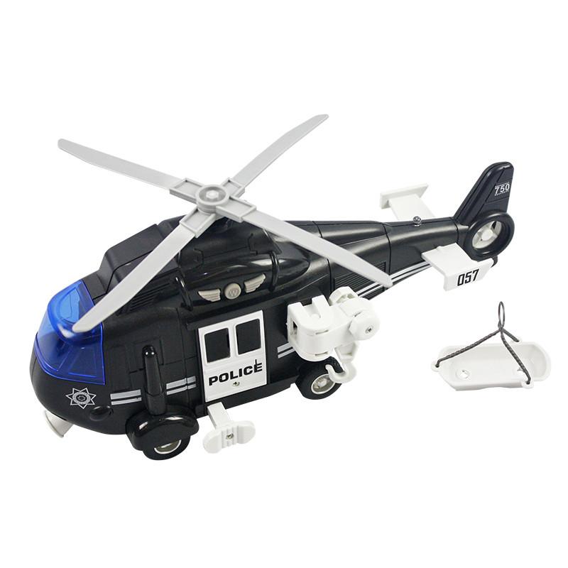 Helicóptero rescate 27,5cm luces y sonidos