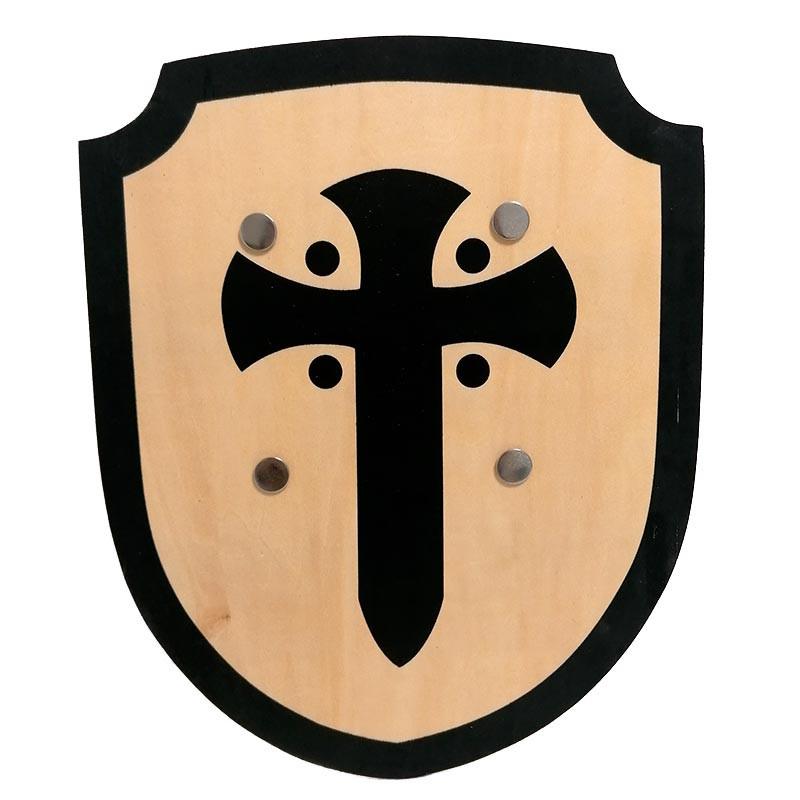 Escudo Madera Cruz