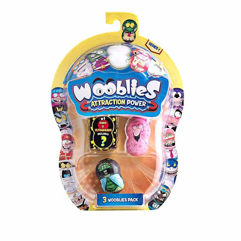 Wooblies 2 Figuras Coleccionables + 1 Figura Ultra