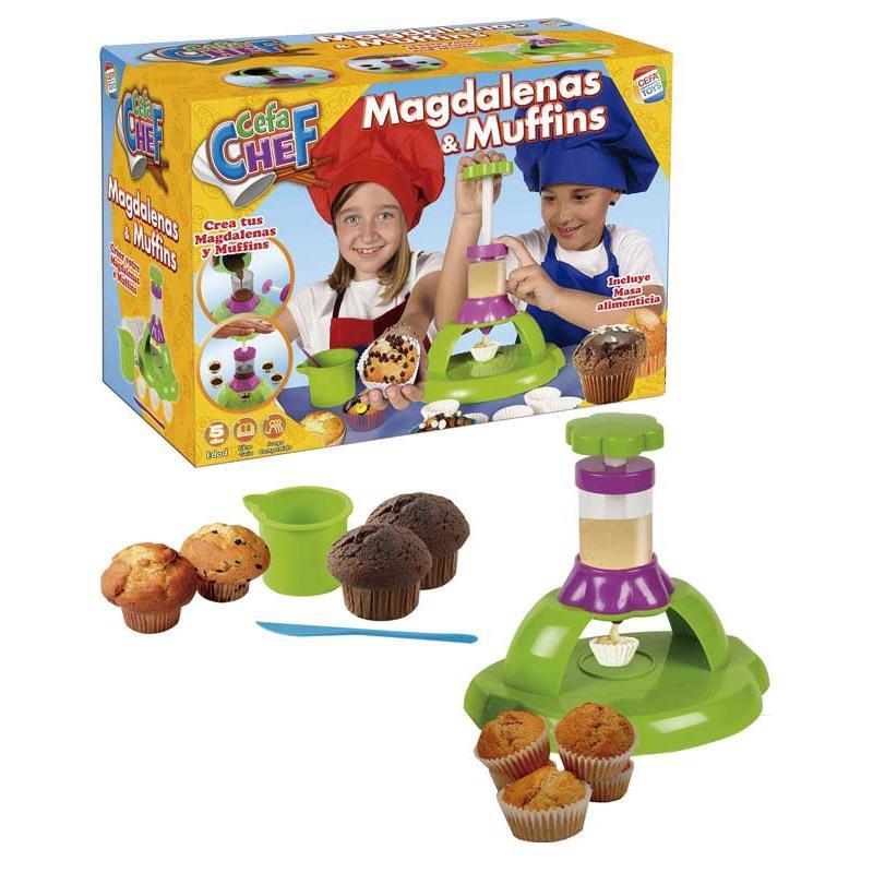 Chef magdalenas y muffins
