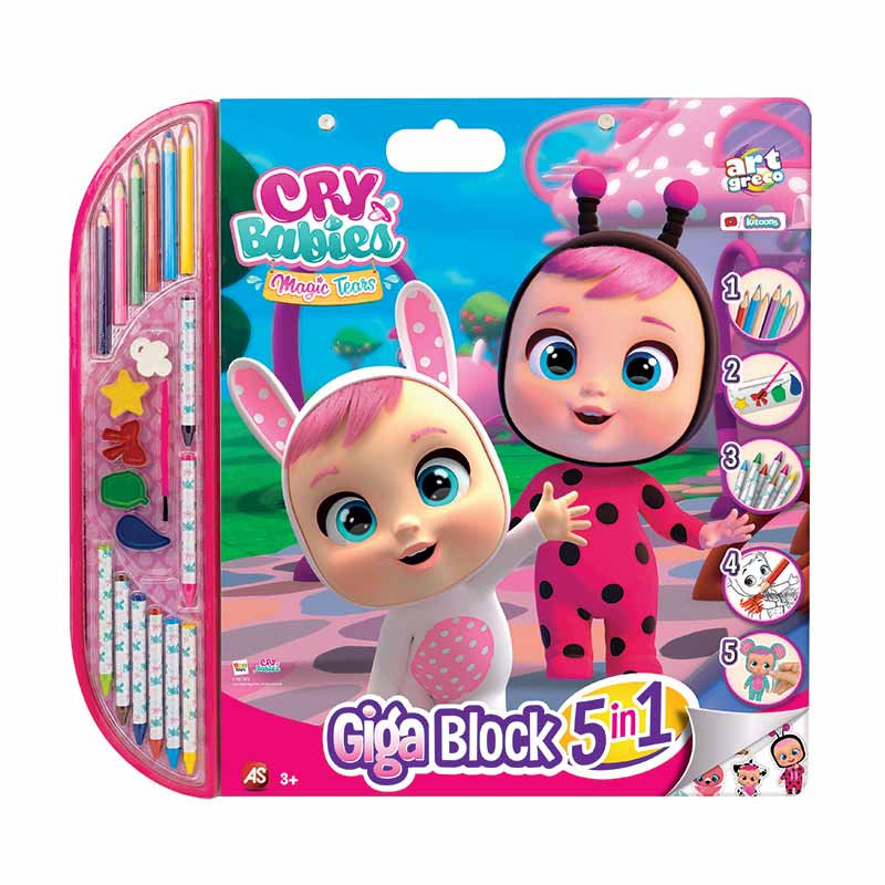 Giga block Cry Babies 5 en 1