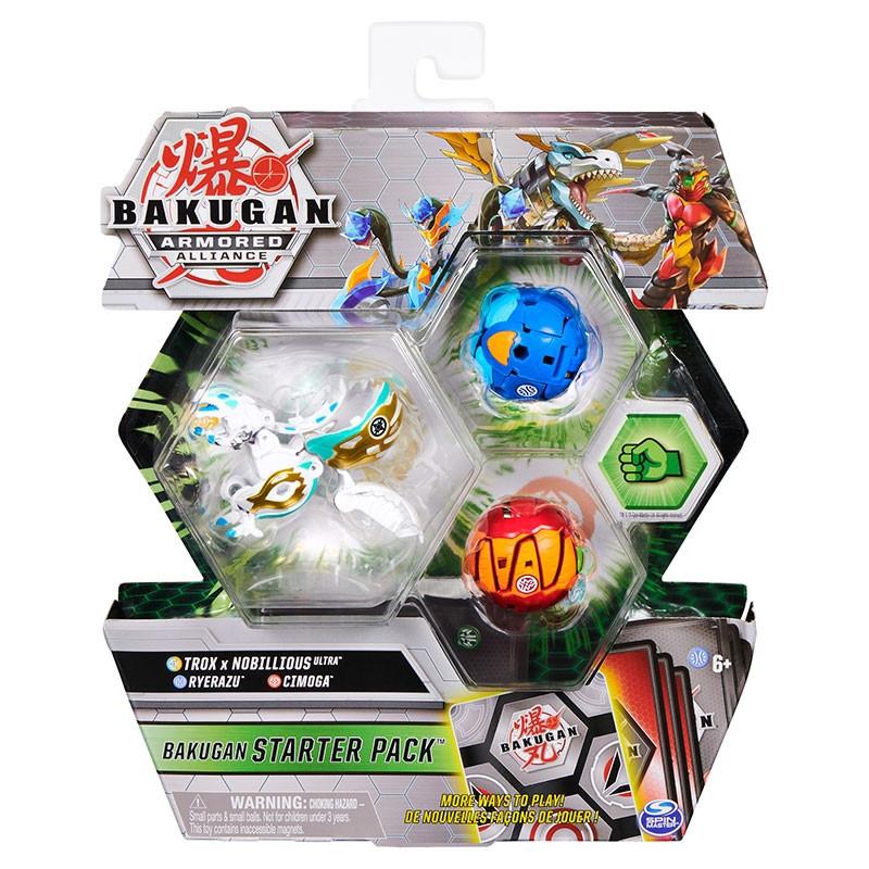 Bakugan starter pack Trox x Nobillious